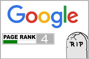 Het einde van Google Pagerank