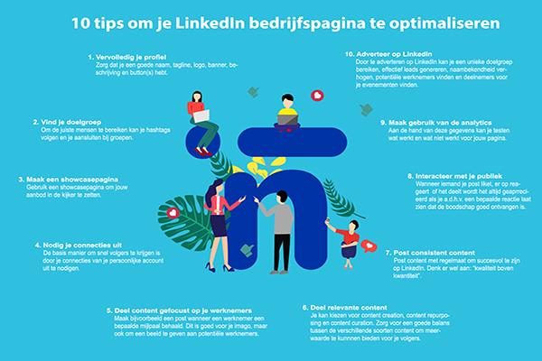 Onze tips om je LinkedIn bedrijfspagina te optimaliseren